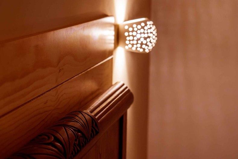 Dormitorio Viggo detalle luz